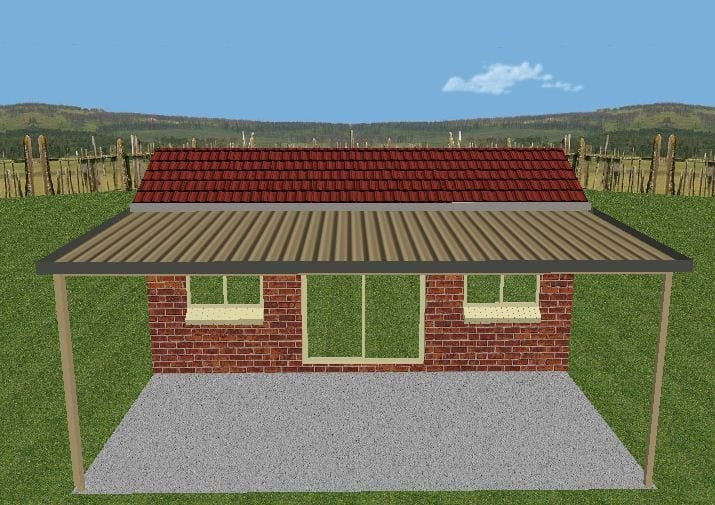 0033 031 together with Carport Covers in addition Viewtopic in addition Wood Carports Attached To House as well 2 Bedroom House With Garage For Rent. on house plans with attached carport