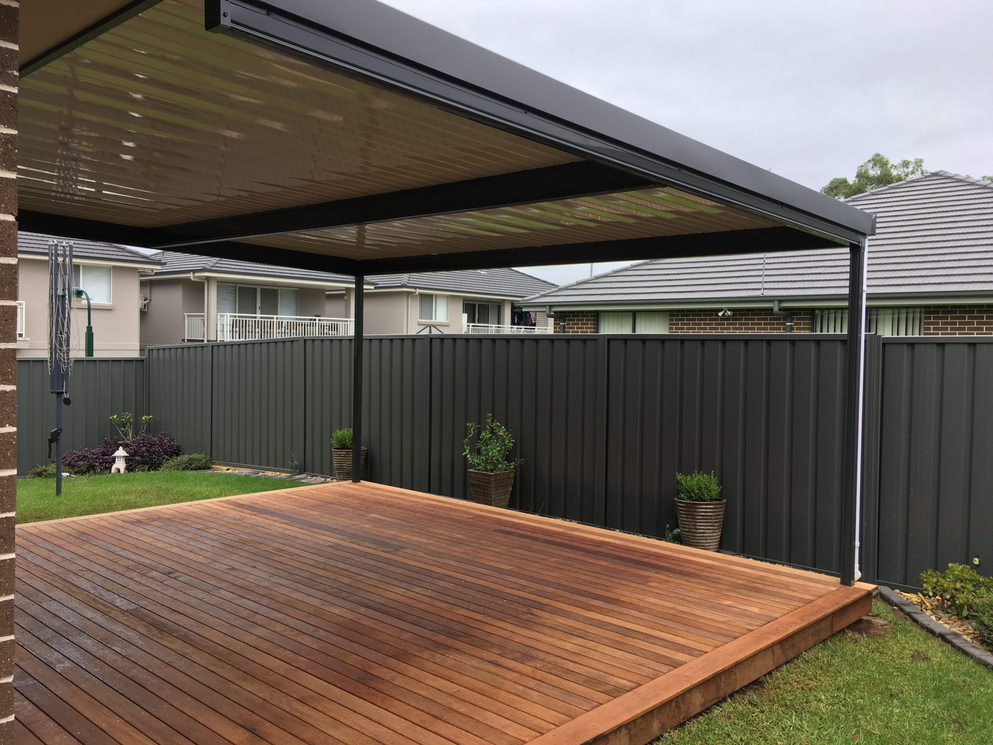 Colorbond Pergolas - Narellan Home Improvement Centre