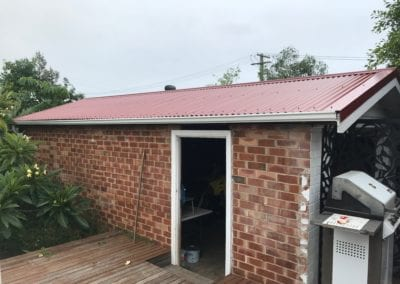 Colorbond Carport Reroof -Russell Vale