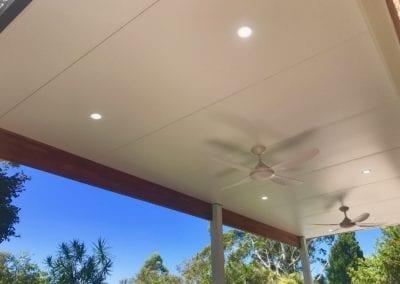 Flat Insulated Roof Pergola Macarthur