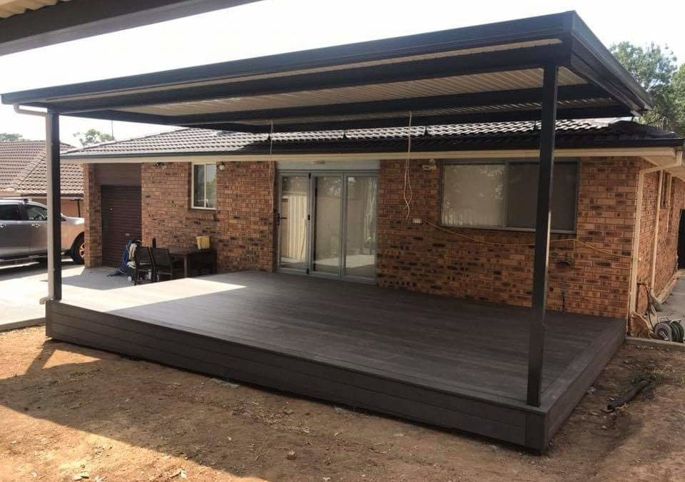 NewTechWood Composite Deck – Ruse, Campbelltown