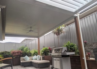 Flat Insulated Roof Pergola & Opening Roof Pergola, Horsley