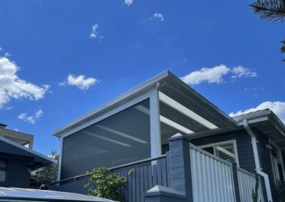 Flat Roof Pergola & Outdoor Blinds, Primbee