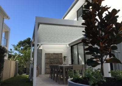 Stratco Pavilion Allure Opening Roof Pergola, Shell Cove